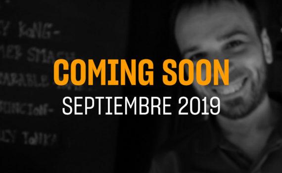 Portada del coming soon del mes de Septiembre 2019
