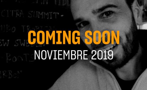 Portada del coming soon del mes de Noviembre 2019