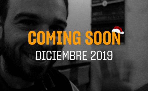 Portada del coming soon del mes de Diciembre 2019