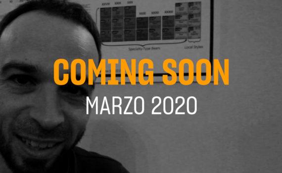 Portada del coming soon del mes de Marzo 2020